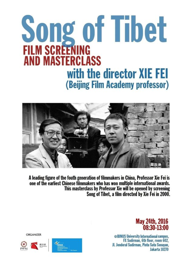 Poster screening and masterclass Xie Fei (FINAL) - Copy